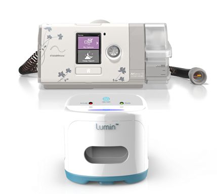 Airsense S10 CPAP for her with Mask and Lumin